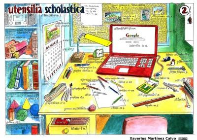 Vtensilia scholastica